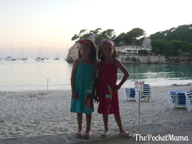 Cala Galdana al tramonto - Minorca coi bambini