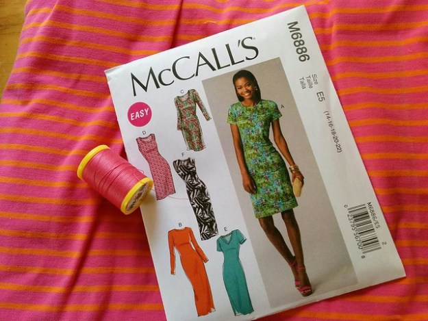 Summer sewing with McCalls m6886