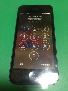 46_iPhone5のフロントパネルガラス割れ
