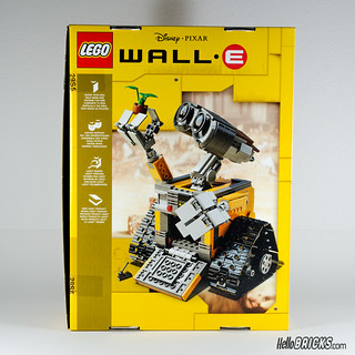 REVIEW LEGO 21303 WALL-E LEGO IDEAS 02