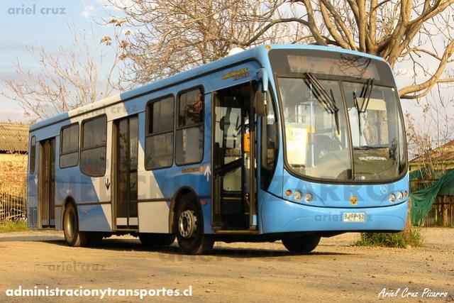 Transantiago - Unitran - Busscar Urbanuss Pluss / Mercedes Benz (BJFP52)
