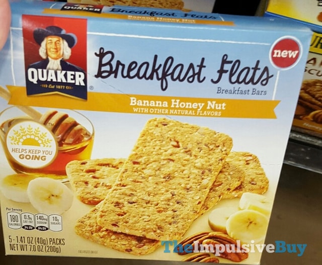 Quaker Banana Honey Nut Breakfast Flats