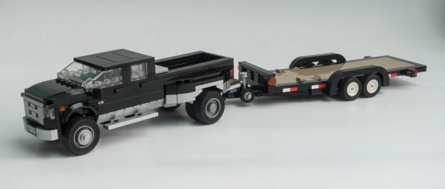 Dodge Ram 3500 with trailer