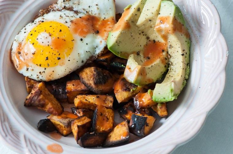 Sweet Potato Breakfast Bowls 3