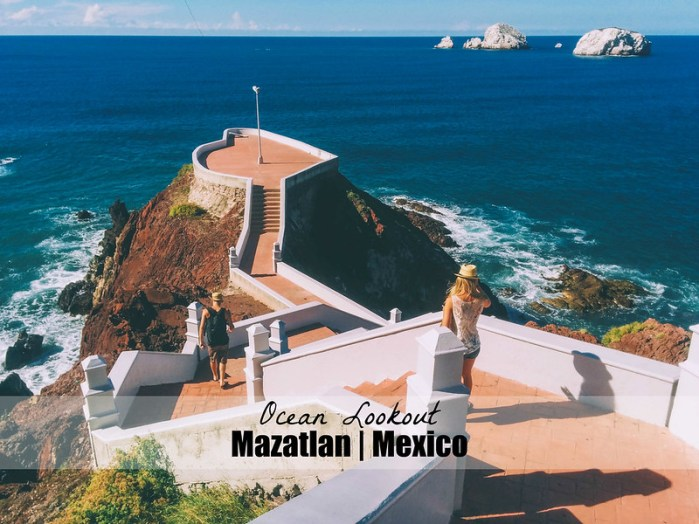 Ocean Lookout | Mazatlan Mexico | Perogy and Panda