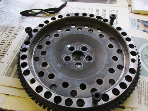 Use 3 Clutch Bolts for Positioning Flywheel on Crankshaft