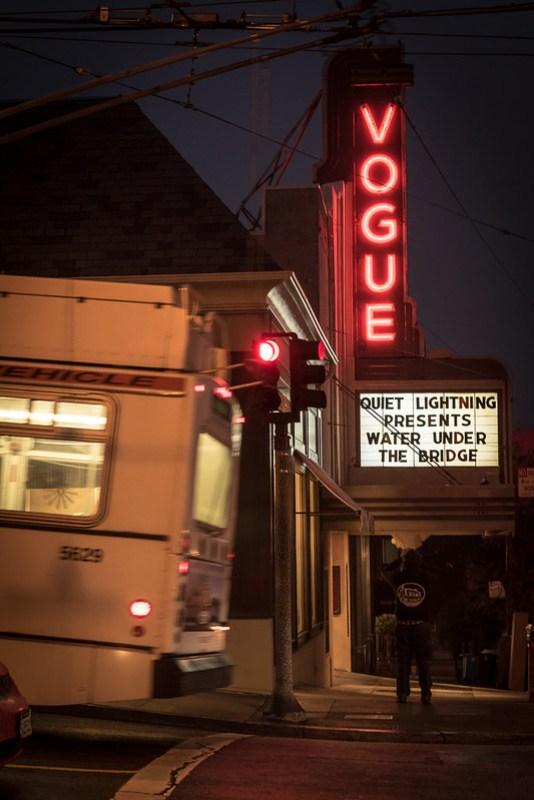 Water Under the Bridge world premiere @ The Vogue Theatre