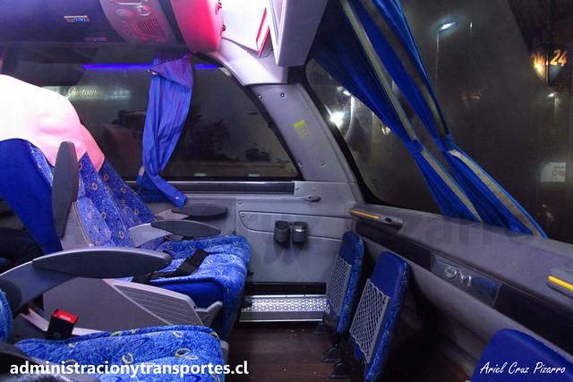 Andesmar Chile - Interior (Valdivia) - Comil Campione DD / Volvo (HSGG45) (13)