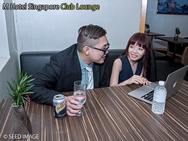 M Hotel Singapore Club Lounge