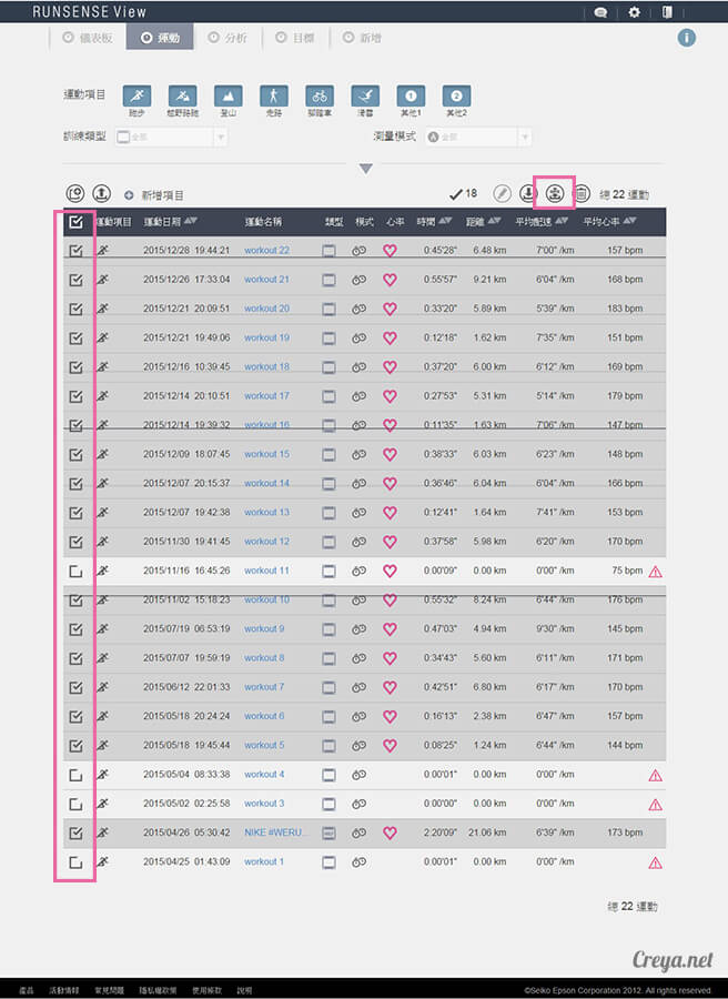 2015.12.30  跑腿小妞  EPSON RUNSENSE SF-810 與 NIKE+ RUNNING 數據同步一家親 06.jpg
