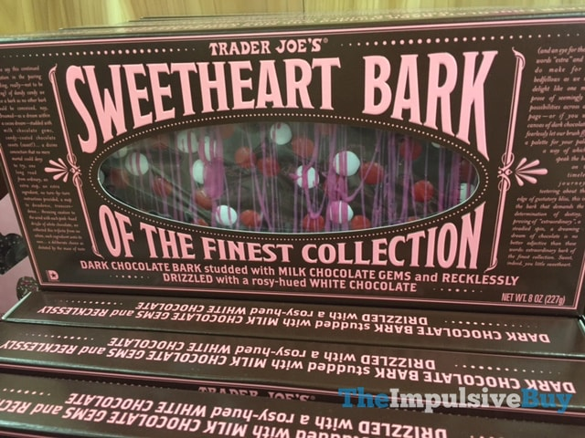 Trader Joe's Sweetheart Bark of the Finest Collection