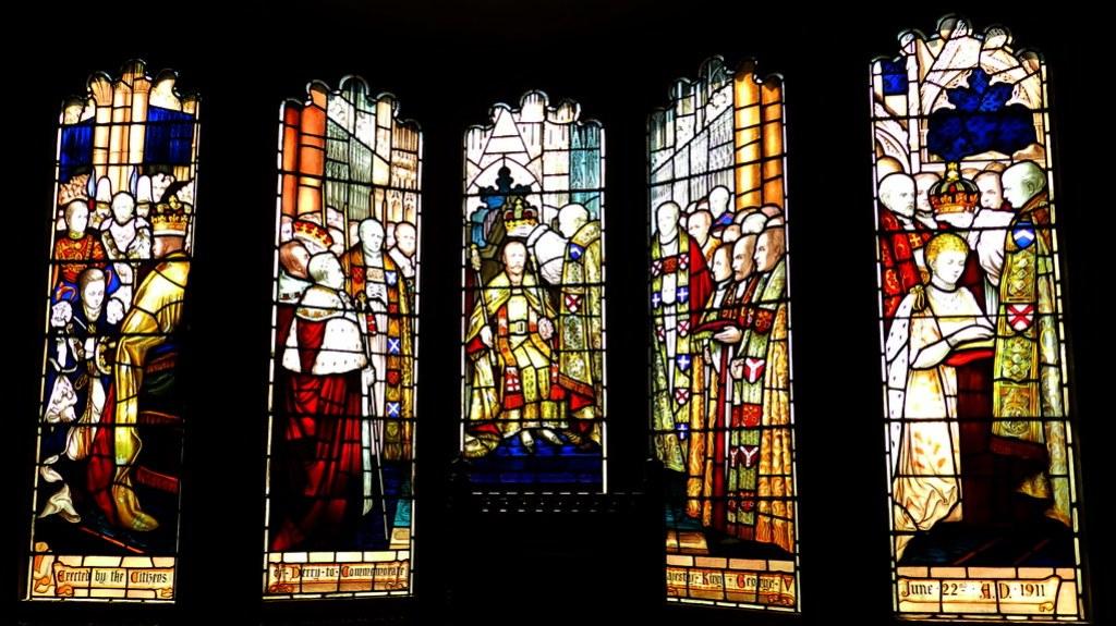 Vidrieras Guildhall Londonderry Ulster 12