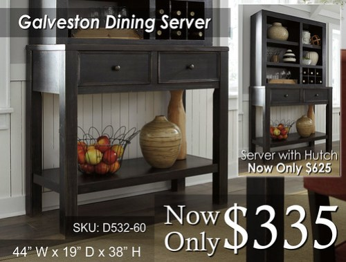 Gavelston Dining Server
