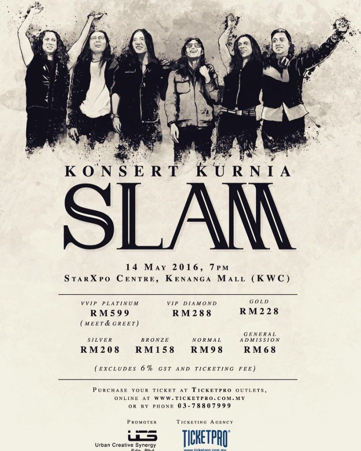 Konsert Kurnia Slam Di StarXpo Centre, Kenanga Mall