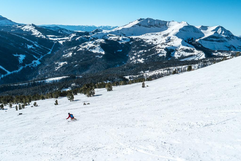 Kevin Skiing at Big Sky