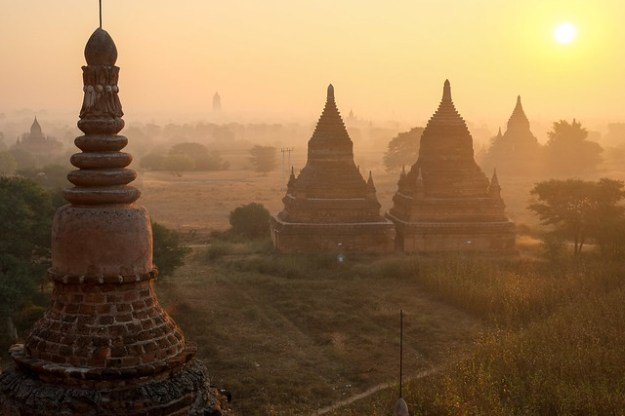 Sunrise from Buledi. Bagan
