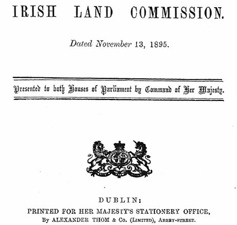 The Irish Land Commission