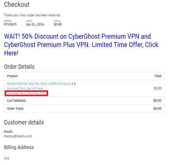 Bản quyền miễn phí Secure Hunter Anti-Malware Pro bước 4: nhận link download và license