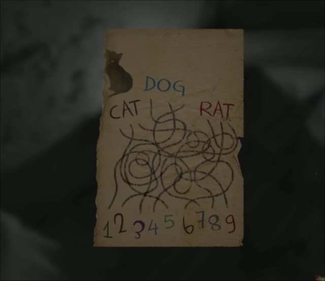 Layers of Fear - Cat Dog Rat Puzzle Image25