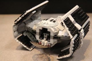 LEGO Star Wars 75150 Darth Vader's TIE Advanced and A-wing Fighter 8