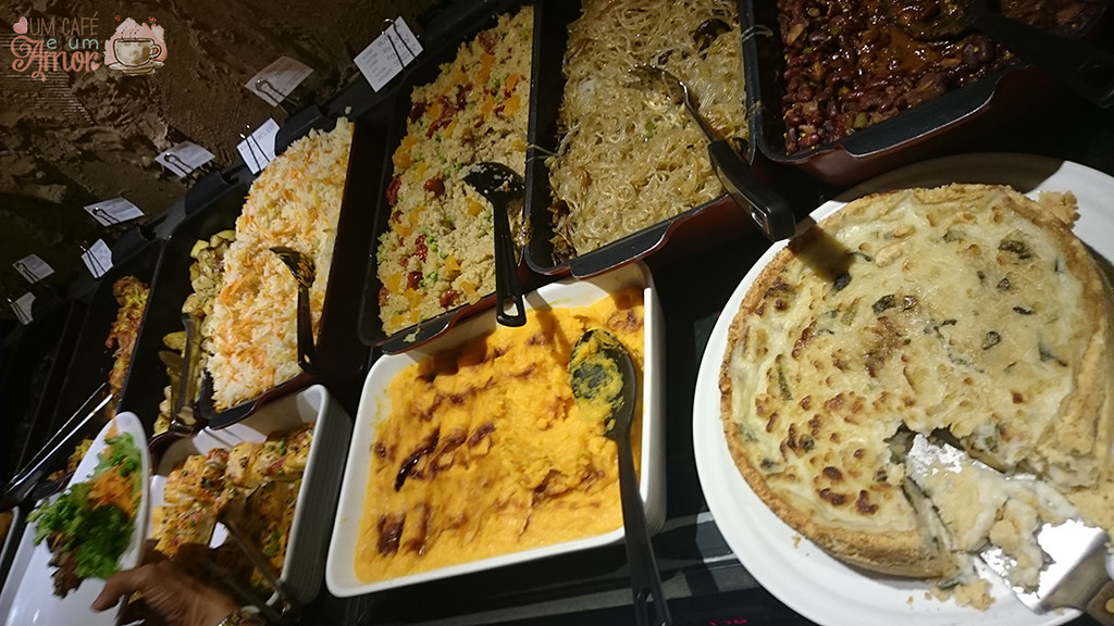 Buffet Vegano do Restaurante Papaya Verde