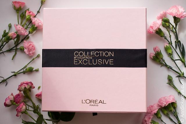 01 L'Oreal Exclusive Collection By Color Riche Lipstick Розовая симфония La Vie En Rose swatches