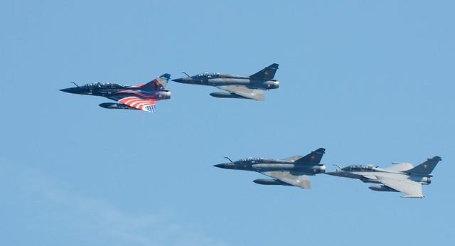 Dassault Mirage 2000N et Rafale B