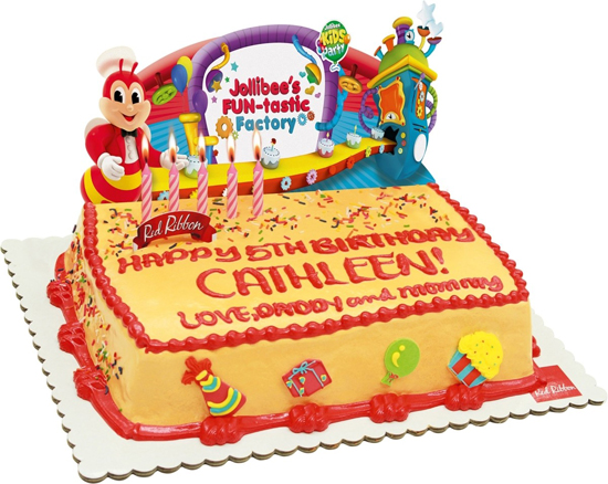 Jollibee Party Cake