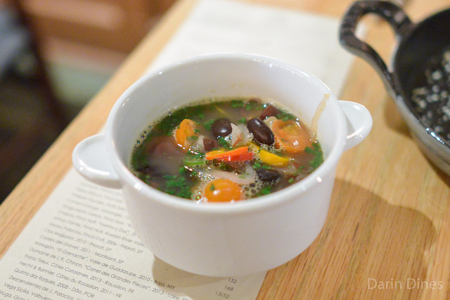 FRIJOLES Heirloom Ayocote Beans, Tomato, Cilantro