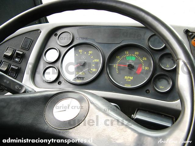 Transantiago (E10) - Unitran - Metalpar Tronador / Mercedes Benz (WH2070)
