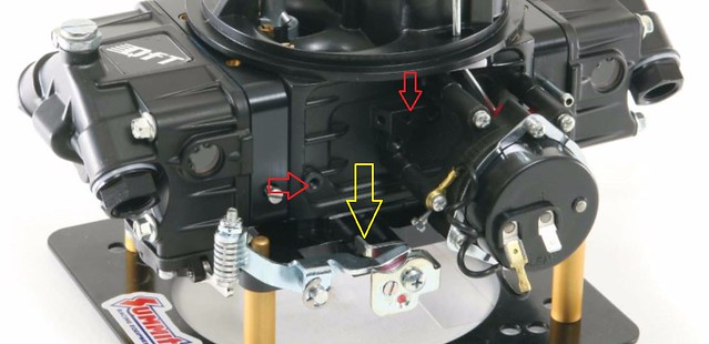 DIY Idea For TH400 Kickdown Switch On A 4150 Carb