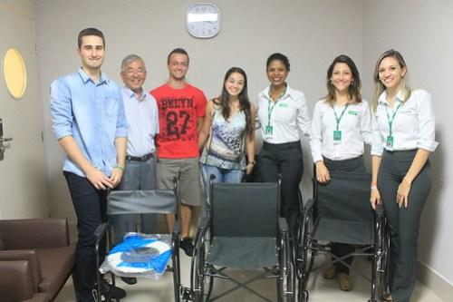 Unimed Maringá realiza entrega de equipamentos de mobilidade 1