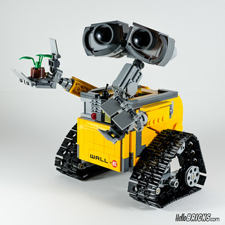 REVIEW LEGO 21303 WALL-E LEGO IDEAS 15