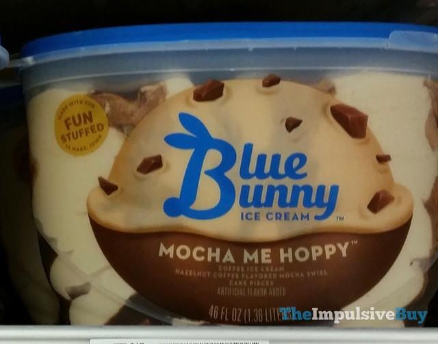 Blue Bunny Mocha Me Hoppy Ice Cream