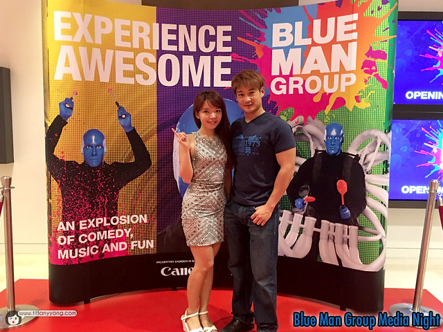 Blue Man Group Singapore Media Night
