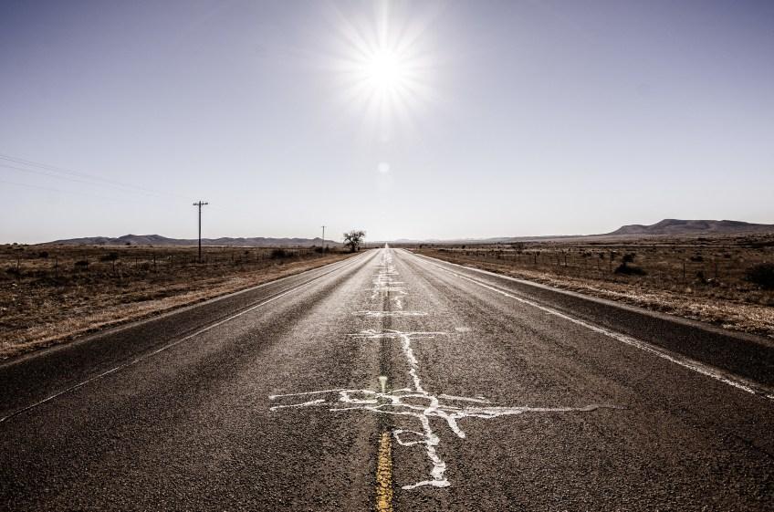 open road, marathon