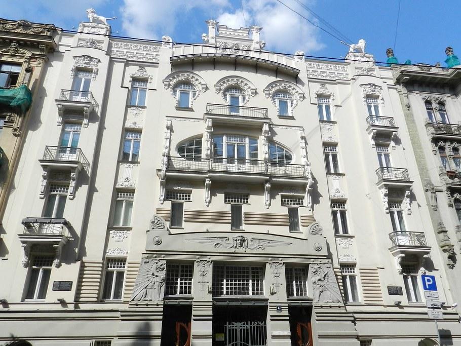 Art Nouveau Riga Letonia 16