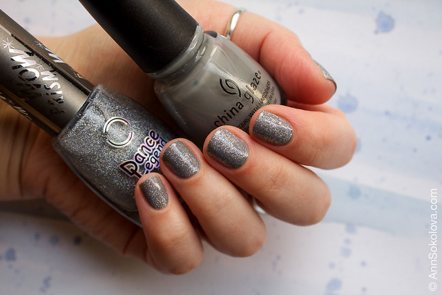 01 China Glaze Recycle + Dance Legend Steel Panther Wow Prism Collection Ann Sokolova swatches