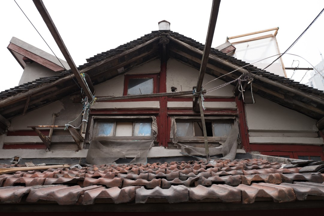 位於上海多倫路名人街附近的傳統小區,美到不行的小弄堂