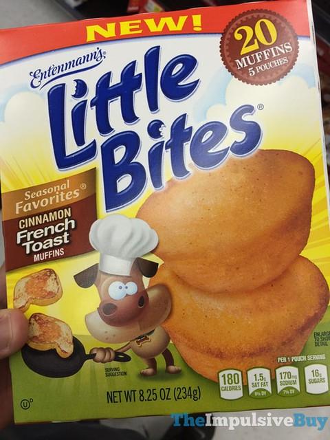 Entenmann's Seasonal Favorites Cinnamon French Toast Little Bites