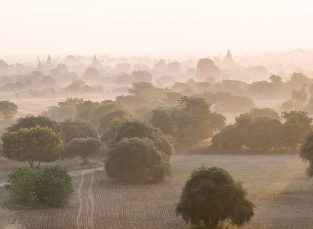 Myanmar mist. Bagan