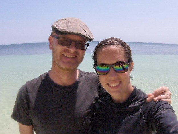 Us at Paliton Beach. Siquijor