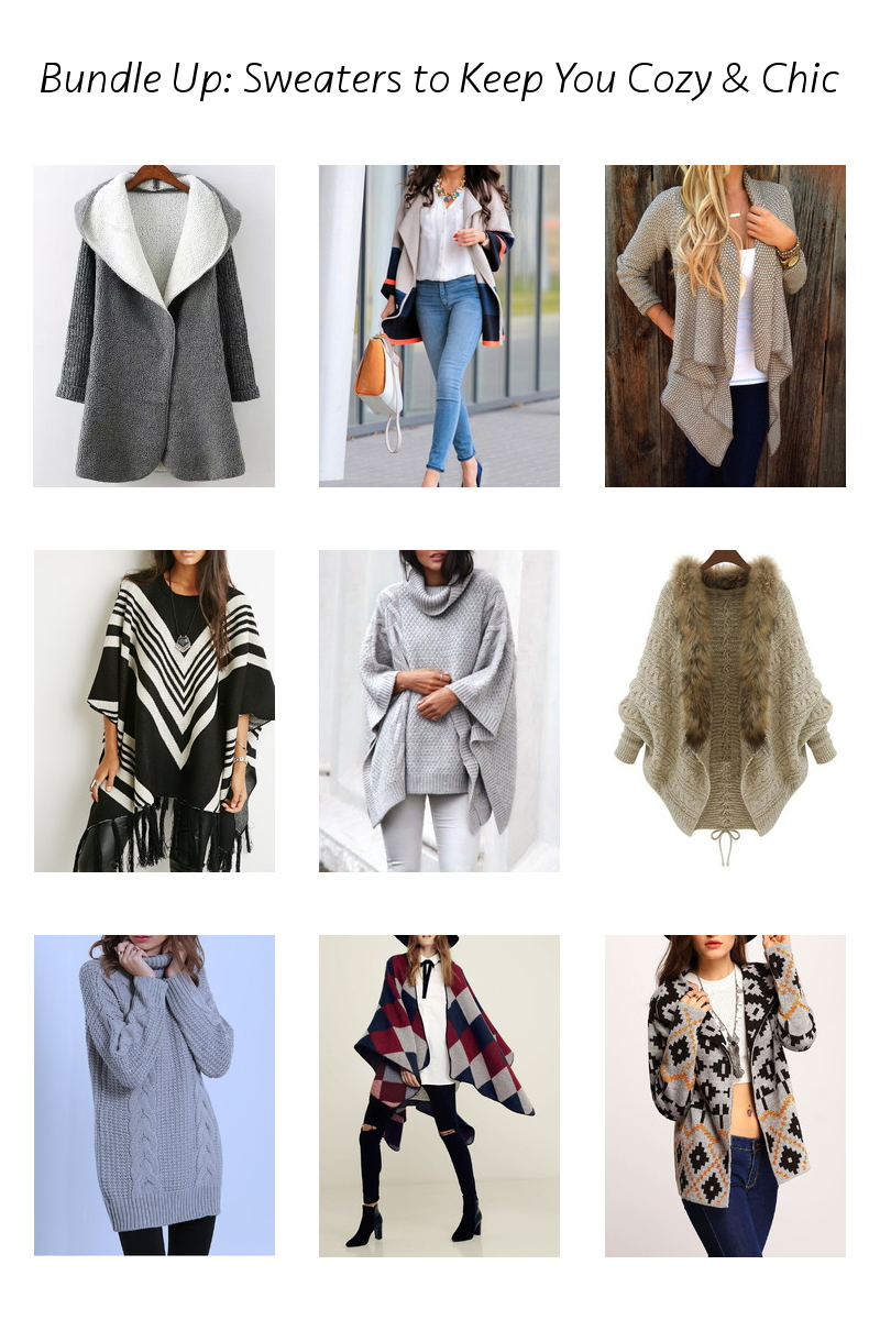 shein sweaters, cozy, bundle
