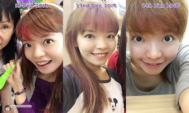 Tiffany Yong Hair Colour