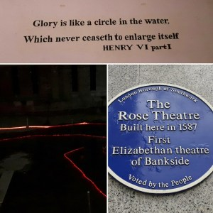 The Rose - Londen - Shakespeare