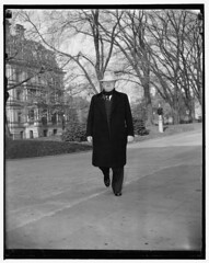 Lewis visits Roosevelt at the White House: 1939