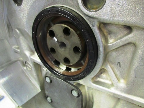 Positioning Rear Crankshaft Seal in Bore