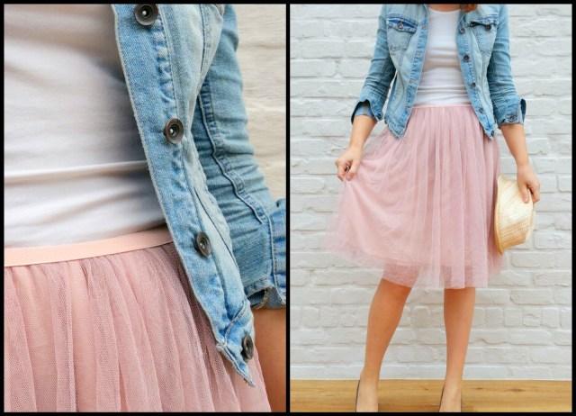 tule/chiffon skirt (casual)