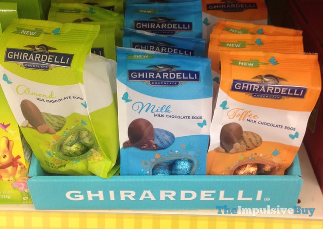 Ghirardelli Milk Chocolate Eggs