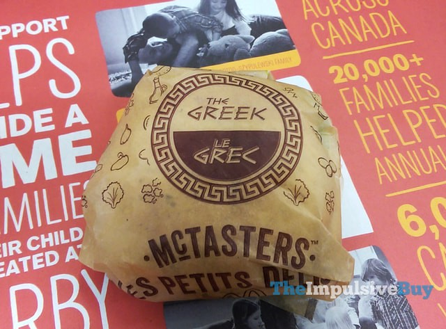 McDonald's Greek McTaster